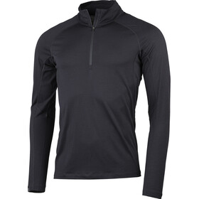 Lundhags Gimmer Merino Light 1/2 Zip Top Men, black